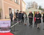 Visite officielle rue de la Madeleine - Chartres (14 logements)